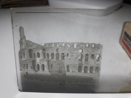 196 - Plaque De Verre - Italie - Rome - Glasplaten