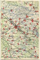 Wona-Landkarten-Ansichtskarte 43-52 - Vetschau - Verlag Wona Königswartha - Vetschau
