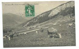 73/ SAVOIE... Route De LA CLUSAZ Aux ARAVIS. Pâturges Alpestres... VACHES - Francia