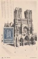 CARTE MAXIMUM FLAMME - N° 399 - CATHEDRALE De REIMS - Année 1938              -                    TDA256A - Cartoline Maximum