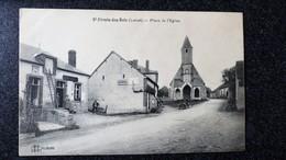 SAINT FIRMIN Des BOIS Loiret  45 Commerces Place De L'Eglise Petite Animation Village - Chateau Landon