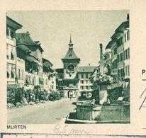 Carte Obl.  N° 193 - 81 B MURTEN (8,5 Mm)  Obl. Kreuzlingen 06/03/63 - Entiers Postaux
