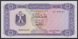 Libya 1/2 Dinar (ND 1972) UNC - Libia