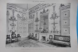 LE STYLE EMPIRE / GRAND SALON CHAMBRE DE COMMERCE DE NANTES - HÔTEL DE LA BOURSE - Prints & Engravings