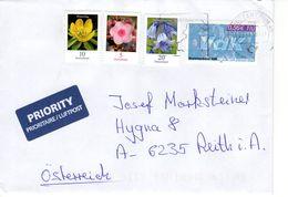 Auslands - Brief Von Briefzentrum 45 Mit 101 Cent Mischfrankatur 2018 - BRD