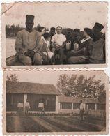 Photo Originale Saint Louis Du SENEGAL Tirailleurs Sénégalais Camp Nord Lot De 2 - Africa