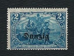 "DANZIG 1920 - Francobolli Di Germania Soprastampati ""DANZIG""- 2 M. Azzurro - MH - Michel DA 11 - Dantzig"