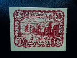 MAROC :  50 CENTIMES  6.4.1944  P 41   Presque SPL * - Maroc