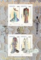 2009,  Spanien, 4423/26 Block 183. Spanische Mode. Moda Española. MNH ** - 2001-10 Unused Stamps