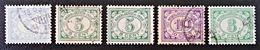 EMISSIONS 1922/41 - OBLITERES - YT 134/36 + 151 - Niederländisch-Indien