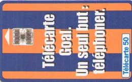 TELECARTE 50 UNITES TELECARTE GOAL 11/95 - France
