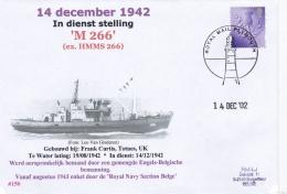 British Minesweeper HMMS-266 From 1942 Had Originalle A British-Belgium Crew, Later Belonging To Royal Navy Section Belg - Militaria