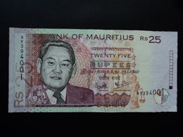MAURICE (île) : 25 RUPEES  2003  P 49b    TTB+ - Mauritius
