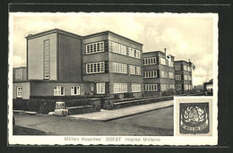 AK Soest, Am Militär Krankenhaus. Militair Hospitaal, Hôpital Militaire - Soest