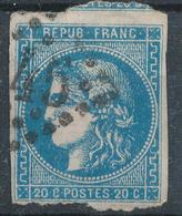 N°45 AVEC VOISIN VARIETE FLEURONS - 1870 Emission De Bordeaux