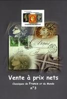 Cérès N°1 Au N°7 Et N°9 Au N°84 Dans Catalogue VPN3 De Timbres Et Lettres Classiques - 1849-1850 Ceres