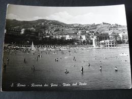 1957 ...SAN REMO ....VISTA DAL PORTO  ....CARTOLINA VIAGGIATA - San Remo