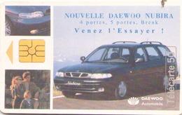 TELECARTE 50 UNITES NOUVELLE DAEWO NUBIRA 09/97 - 1997