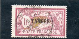 TANGER 1918-24 O - Morocco (1891-1956)