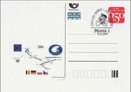 Czech Republic (04-12) Cycling Peace Race 2004 Prague -  Postcard - Ciclismo