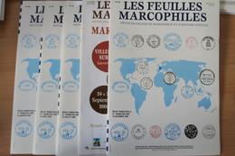 Feuilles Marcophiles Année 2005 + Marcophilex - Riviste
