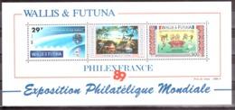 Wallis & Futuna - 1989 - BF N° 4 - Neuf ** - Philexfrance89 - Blocs-feuillets