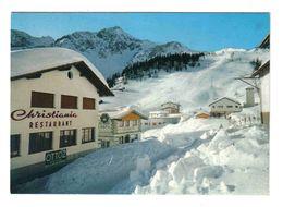 Italie Val D'Aosta Courmayeur N°1224 Restaurant CHRISTIANIA PUB Ottoz Bar La Baîta Plan Checrouit Camp De Ski En 1994 - Altre Città