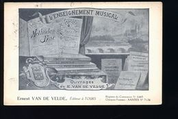 TOURS EDITEUR ERNEST VAN DE VELDE - Tours