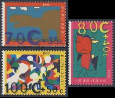 Nederland Netherlands Pays Bas 1995 Mi 1558 /0 ** Children's Computer Drawings / Kinderzeichnungen Auf Computer - Computers