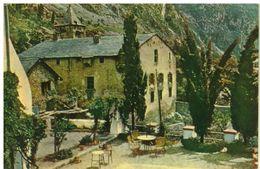 CARTOLINA VIAGGIATA - ANDORRE LA VIEILLE: MAISON DU PARLAMENT - Andorra