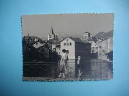 PHOTOGRAPHIE   ANNECY -  74  -  Dans La Ville Vers N D De Liesse  -  8,7  X  11,6  Cms - 1958  - Haute Savoie - Annecy