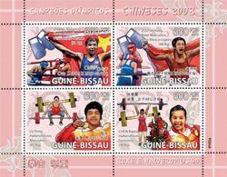 GUINEA BISSAU 2009 - Boxing, Weightlifting Beijing Olympics - YT 2730-3 - Zomer 2008: Peking