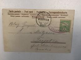 """SCHIFFE   PIROSCAFO   SHIP BOAT   """" PIROSCAFO COMANDO  ABBAZIA """"   1910. - Schiffe"""