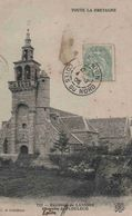 CPA  Lannion Chapelle De Ploulech - Lannion