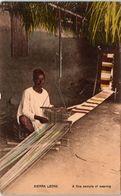 AFRIQUE - SIERRA LEONE - A Fine  Sample Of Weaving - Sierra Leone