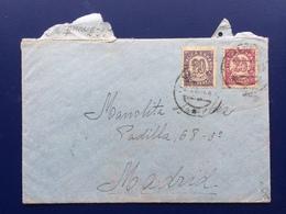 España, Spagne, Spain, Historia Postal, Guerra Civil, Histoire Postale, Guerre Civile, Sobre, Lettre, Cover (3) - 1931-50 Lettres