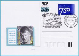 Czech Republic (07-09) Olympic Games 1936,1948  Gold Medal Brzak   - Postcard - Ete 1936: Berlin