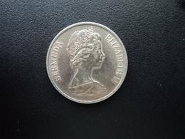 BERMUDES : 25 CENTS  1970   KM 18    SUP+ - Bermuda