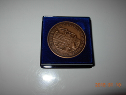 100 YEARS OF HUNGARIAN BREWERY KANIZSA SORGYAR RT 1892-1992. Cased Medal - Professionals / Firms
