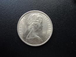 BERMUDES : 25 CENTS  1973   KM 18    SUP+ - Bermuda