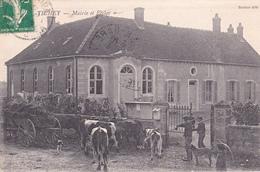 TICHEY - Mairie Et Ecole - Autres Communes