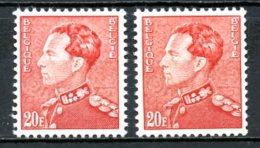 BE   848B - 848BP3    XX   ---   Les Deux Papiers - 1936-51 Poortman