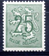 BE   852     XX   ---   TTB - 1951-1975 Heraldischer Löwe (Lion Héraldique)