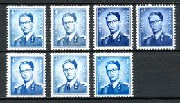 BE   925 - 925a    XX   ---   Les Deux Papiers Et 7 Nuances... - 1953-1972 Lunettes