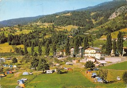Cartolina Gignod Camping Europa - Italy
