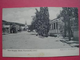 Fauresmith   East Burgher Street.   South Africa. - Afrique Du Sud