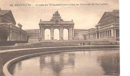 Bruxelles - CP - Brussel - Arcade Du Cinquantenaire - Personnages Célèbres