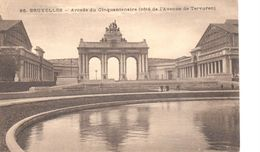 Bruxelles - CP - Brussel - Arcade Du Cinquantenaire - Beroemde Personen