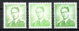 BE   1068 - 1068P3 - 1068P3a   XX   ---   Les 2 Nuances Et  Papiers - 1953-1972 Lunettes