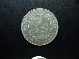 BOLIVIE : 50 CENTAVOS  1965  KM 190   SUP / TTB - Bolivia